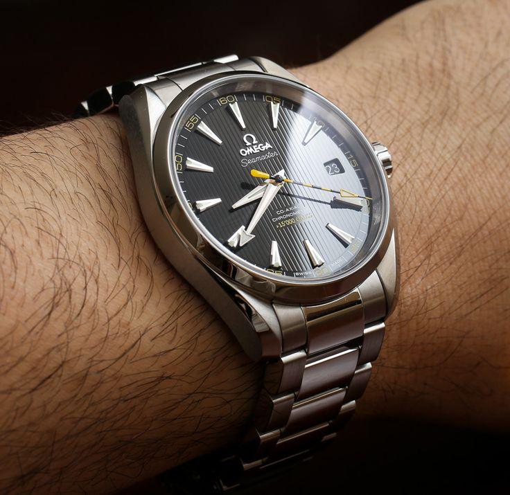 Omega Seamaster Aqua Terra 15,000 Gauss Watch Review   wrist time watch reviews