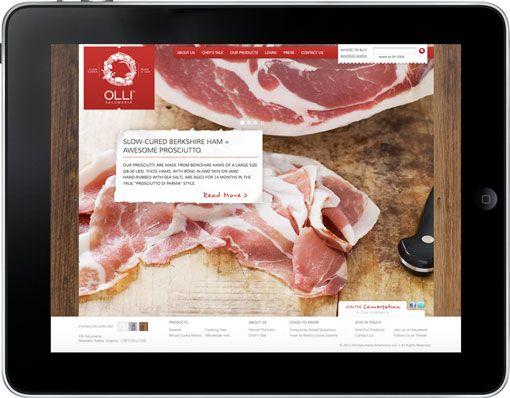 by Miller Creative: Design Inspiration, Webdesign, Awesome Websites, Web Design, Design Ideas, Miller Creative, Food Websites, Design Web, Website Designs