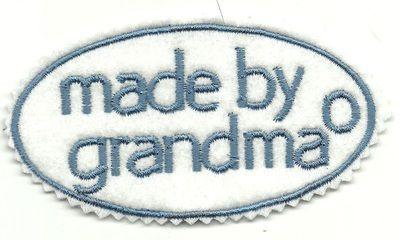 made by grandma tag