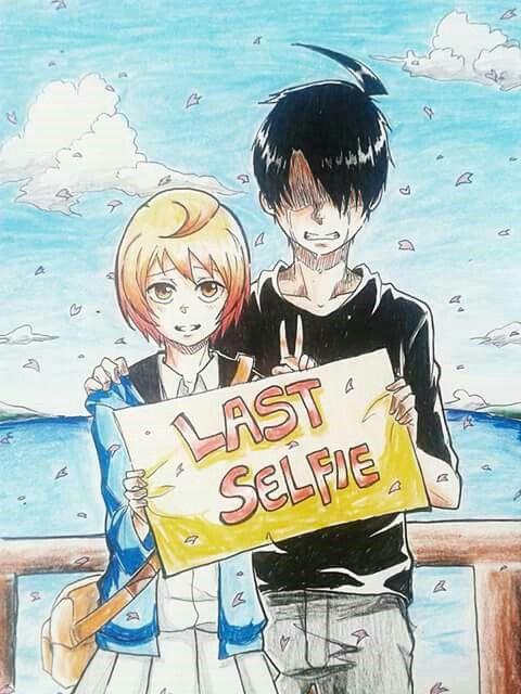 """Last Selfie"" by Lyla-san. Ekspresinya si Zeeyafa lucu T^T. Keren~"