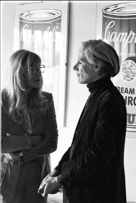 In Rome with Andy Warhol