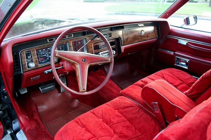 1978 pontiac bonneville interior red velour bonneville