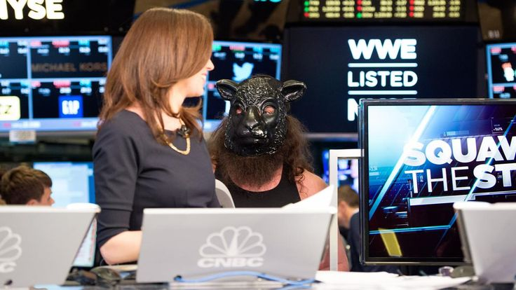 The Wyatt Family rings the opening bell at the New York Stock Exchange: photos