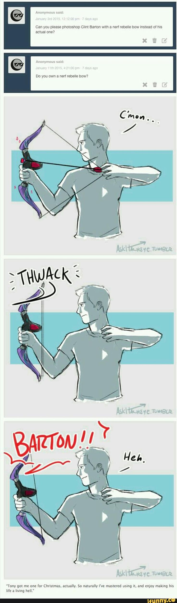 avengers, marvel, hawkeye, clintbarton, tumblr – Marvel