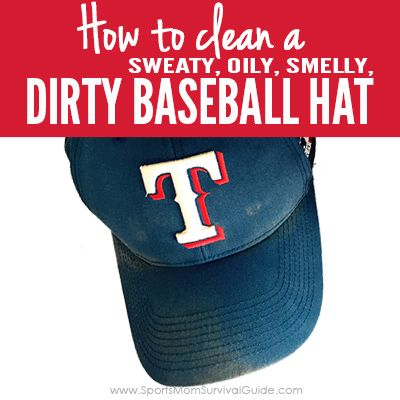 Have a sweaty, oily, smelly, dirty baseball hat that needs cleaning? Follow these simple steps to clean your ball hat.