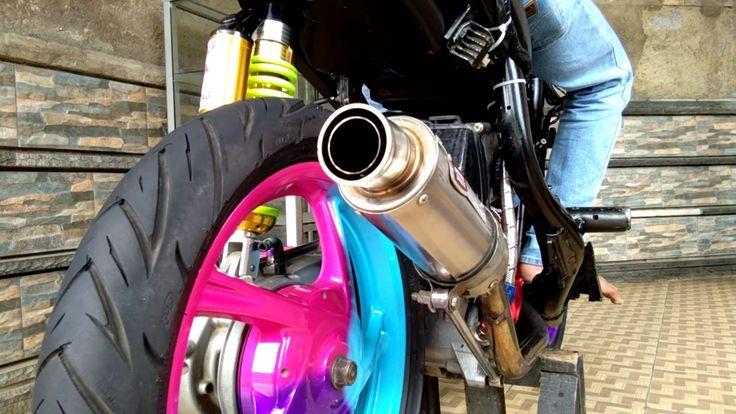 Nengok Yamaha Mio Sporty 150cc Rizal Febriansyah