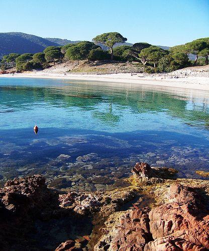 Plage de Palombaggia, Corsica.
