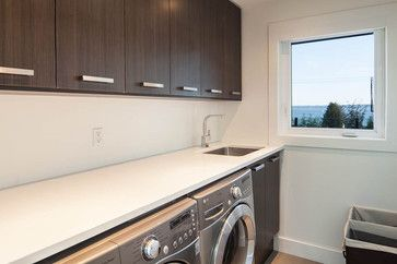 modern laundry rooms - Google Search