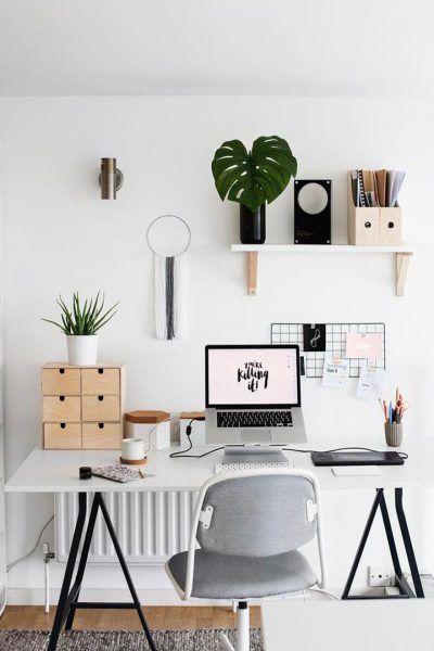 ¿Estás pensando en crear una oficina en casa? Tenemos los mejores espacios de trabajo que te servirán de inspiración. Y todos los accesorios que necesitas