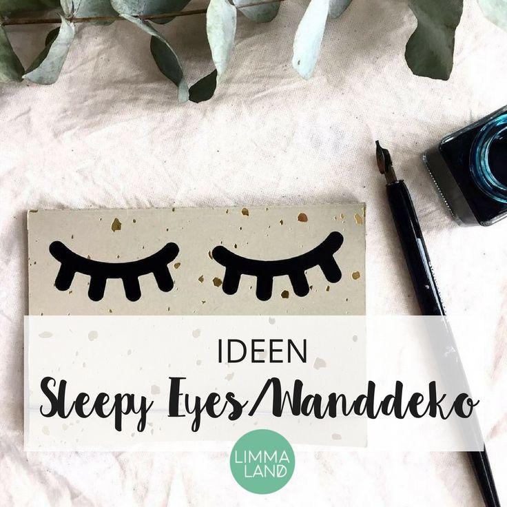 Spectacular So sieht man Sleepy Eyes auf immer mehr Kissen Postern Bettw sche als Wanddeko DIY und auf allen