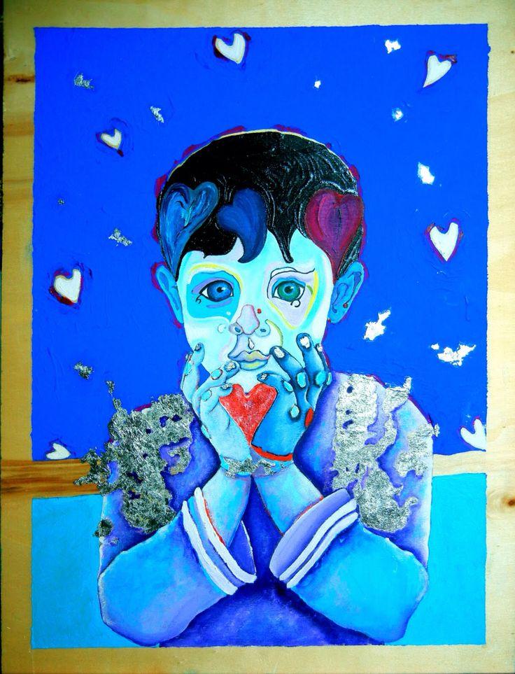 Il cuore di un bambino... È' fragile! Scivola tra le mani...