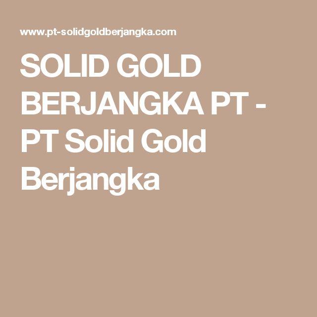 SOLID GOLD BERJANGKA PT - PT Solid Gold Berjangka