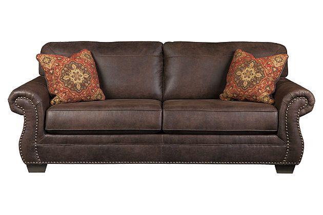 1000 Ideas About Ashley Leather Sofa On Pinterest
