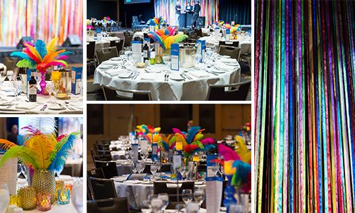 Themed Dinner Events #eventstyling #events #Melbourne #businessevents #themed #tablesettings