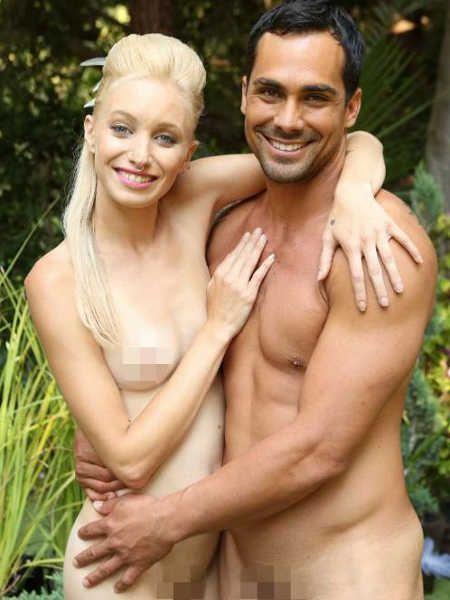 Adam Sucht Eva Gefunden Paradiesische Hochzeit Alle Intouch