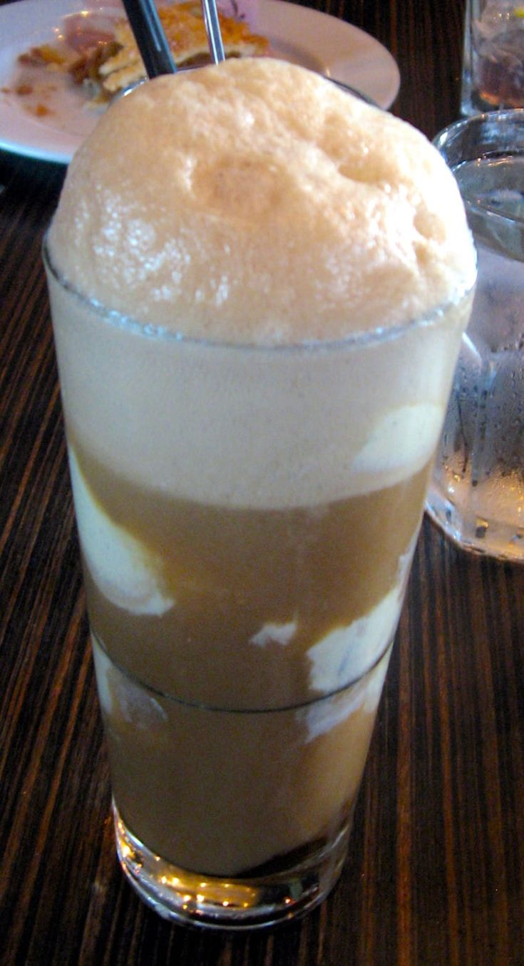 Brown cow drink