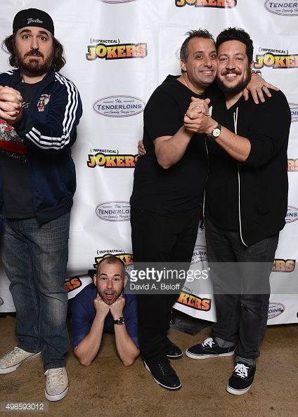 "Tru TV Impractical Jokers ""Where's Larry"" Tour Starring The Tenderloins | Getty Images"