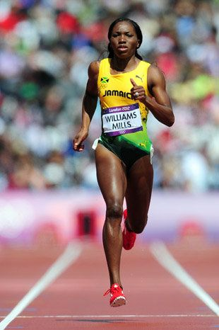 Jamaican runner won bronze in #London while also dealing with breast cancer. #track #running