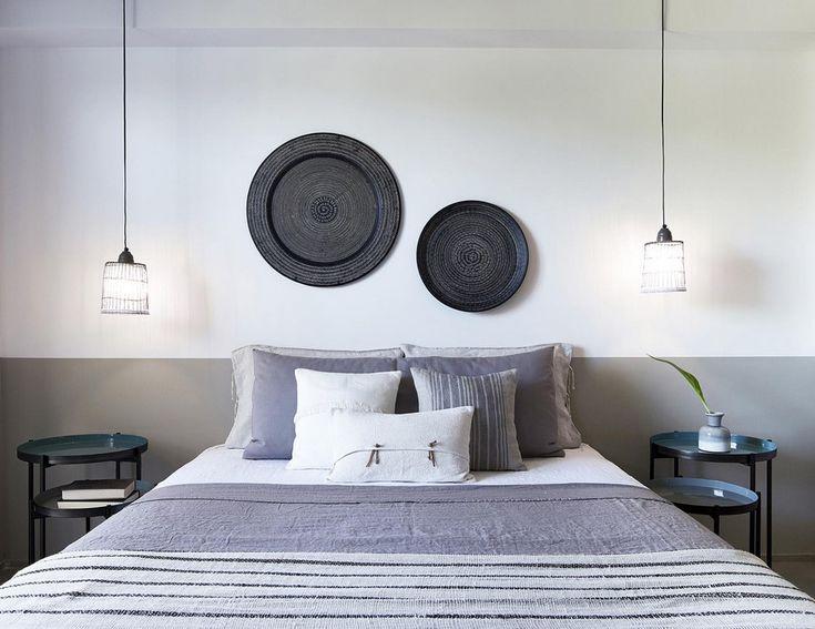 Aegean, skiathos, blu, hotel, stones and walls, afroditi bonatsou, greece, vacation, minimal, traditional