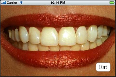iPhone Brushteeth app
