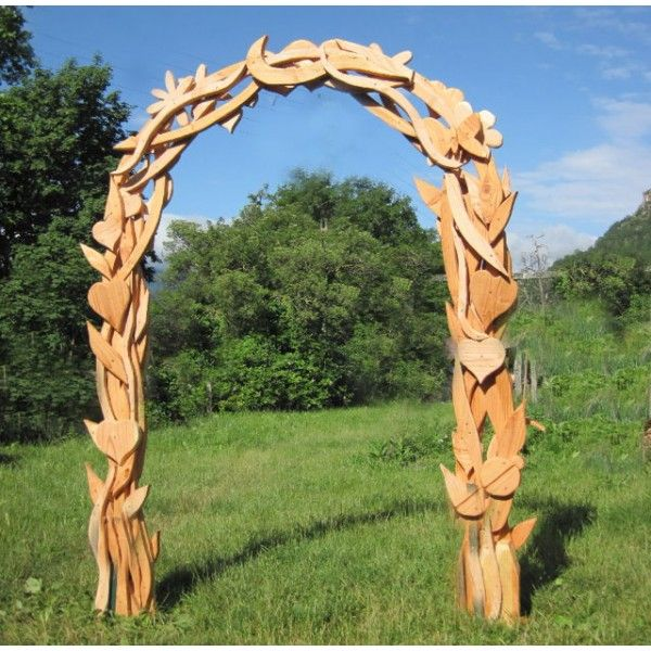 wooden archway - Google Search