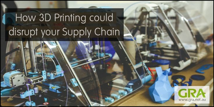 How 3D Printing could disrupt your supply chain