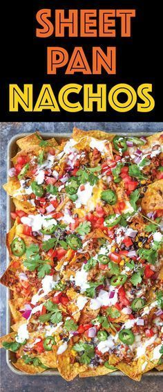 how to make simple nachos in the oven