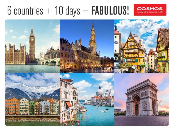 Budget Escorted European Tours