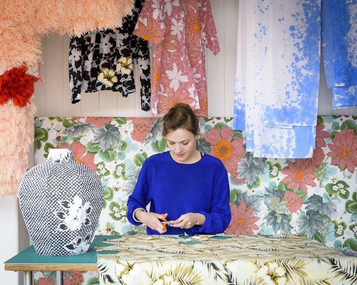 Danishcrafts - Martine Myrup - textile designer