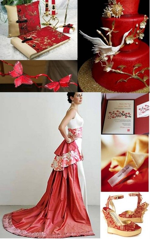 Asian Inspired Modern Oriental Wedding Theme Ideas - OH...MY...GOODNESS!!!!!!  Absolutely gorgeous!!!!