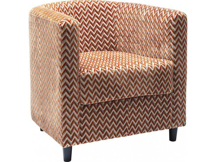 Fotel Snug ZigZag — Fotele Kare Design — sfmeble.pl