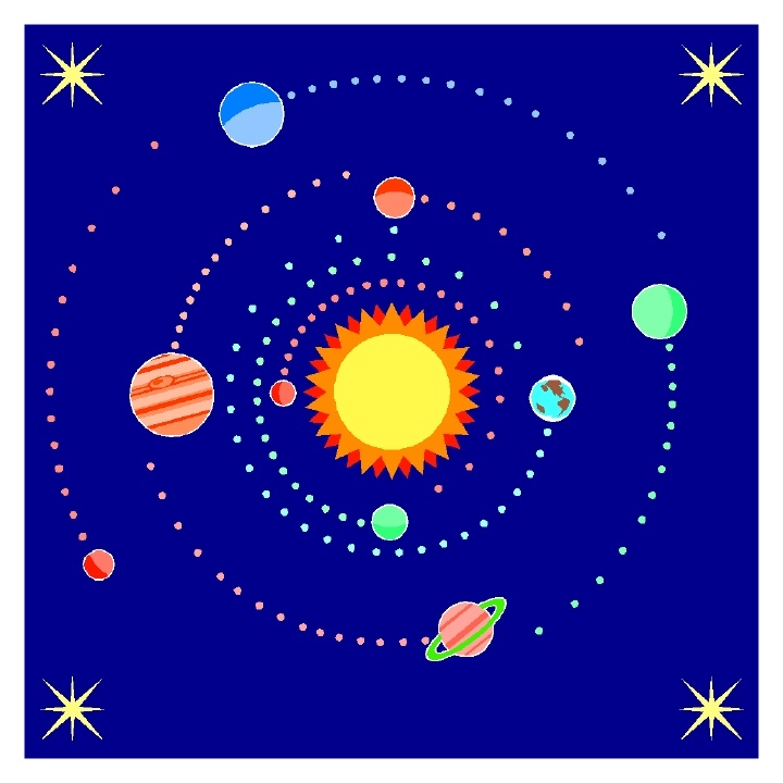 clipart planets solar system - photo #5