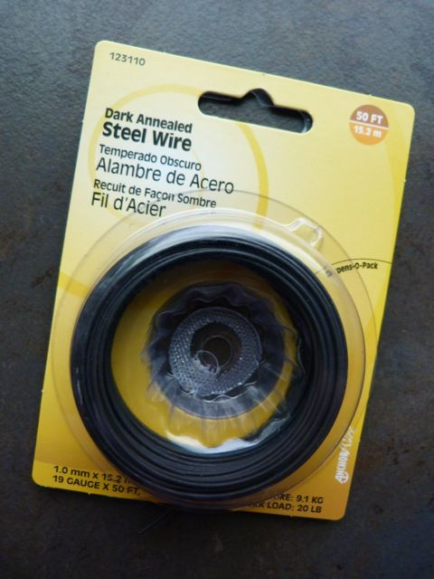 Dark Annealed steel wire tips
