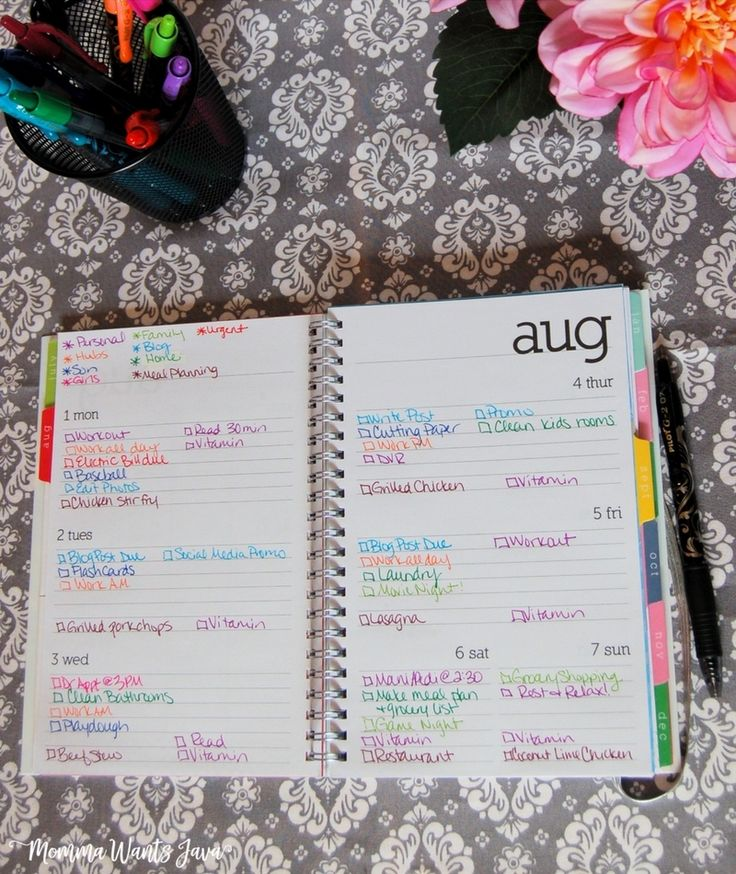 Color-coding your planner can take your organizational skills to a whole new level! Check out these great tips to get started, plus which pens are the best!