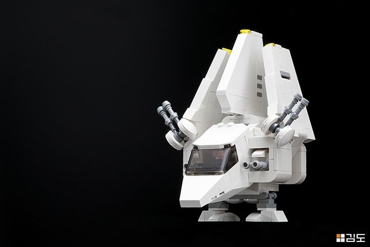 These CHIBI starfighters are just chubby little balls of cuteness