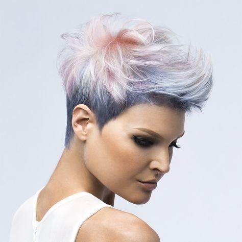 De ces coiffures heureuses, vous aurez certainement des picotements printaniers! - Coiffures pour dames