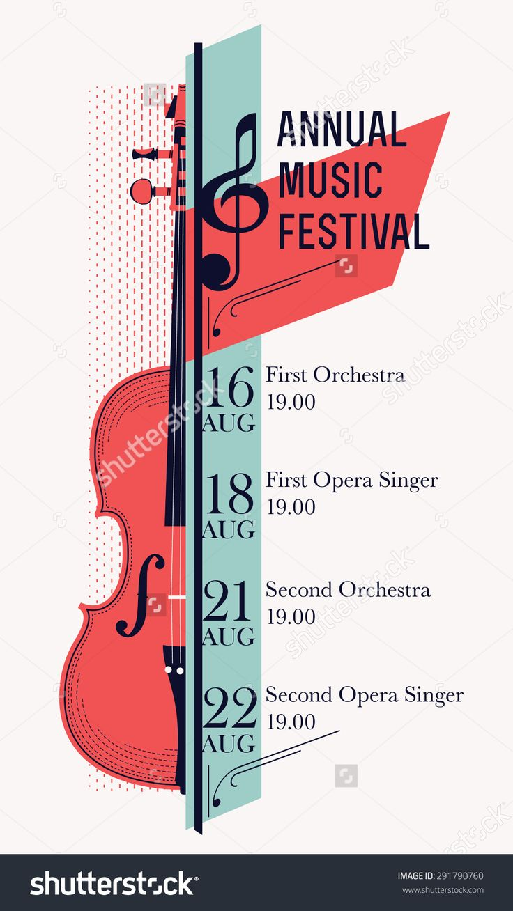 image result for classical concert poster ideas