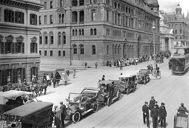 Adderley Street in the early 1900s | Flickr - Photo Sharing!
