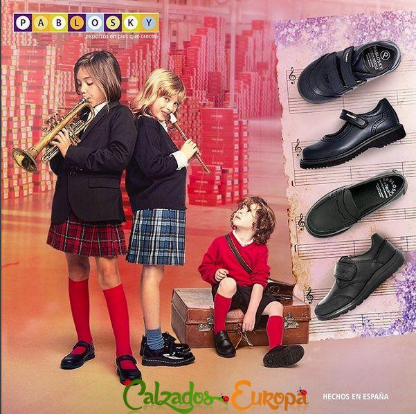 En Calzados Europa trabajamos con las mejores marcas de calzado infantil, y para muestra un botón así que no los dudes y haz click en tu ratón.  http://www.calzadoseuropa.es/ninos-7#idf:1