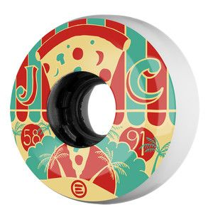 skate wheel, inline, Eulogy, Rowe, size: 58mm, hardness: 91A.