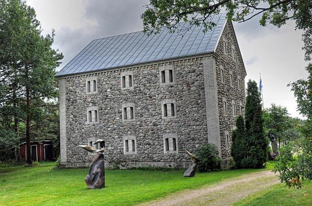 Laila Pullinen Sculpture Park: Nissbacka Manor by JohntheFinn, via Flickr