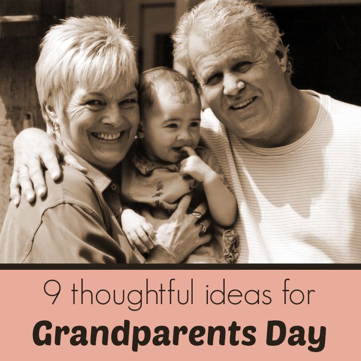9 Thoughtful Ideas for Grandparents Day 2014 via @KatieMc40