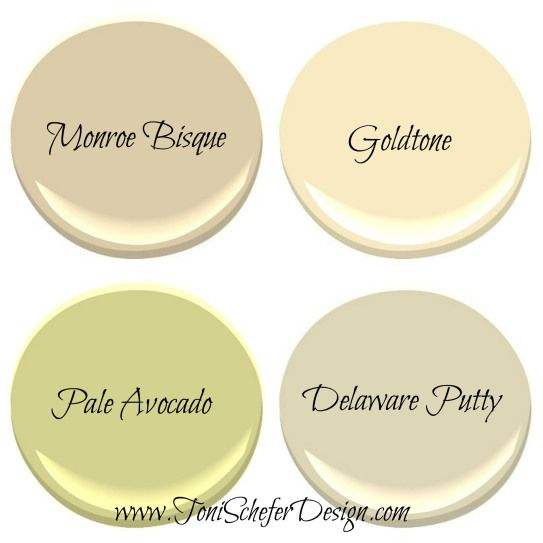 paint colours for a noth facing room, try to avoid anything with a green or gray base. These colours tend to be cooler which will not be complimentary. Instead, opt for warmer base colours that will lighten up the room. Here are 4 Benjamin Moore Colours I would recommend to brighten up a north facing room.TSD North Facing Room Paint Colours