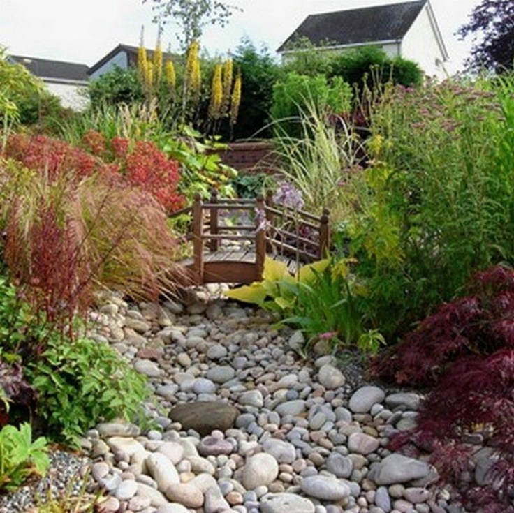 9 best Dry Creek Bed Gardens images on Pinterest Dry creek bed