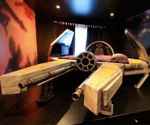 Fighter Spaceship BedFighter Spaceships, Spaces Fighter, Fighter Beds, Wars Beds, Spaceships Beds, Star Wars, Stars Wars, Deep Space, Starwars