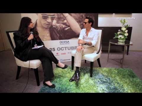 Marc Anthony en entrevista con Ocesa - http://yoamoayoutube.com/blog/marc-anthony-en-entrevista-con-ocesa/