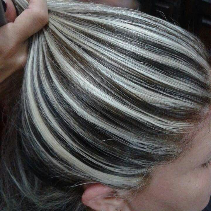 185 best images about Contrast hair color on Pinterest ...