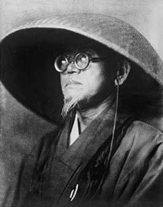 """Japanese Haiku poet, Santoka TANEDA (1882~1940) - """"Westerners try to conquer the mountains. People of the East contemplate the mountains. For us, mountains are not an object of scientific study but a work of art. Patiently I taste the mountains."""""""