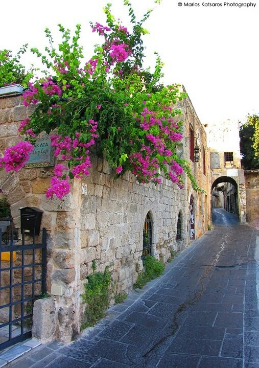 Rhodes Greece old town!!!!