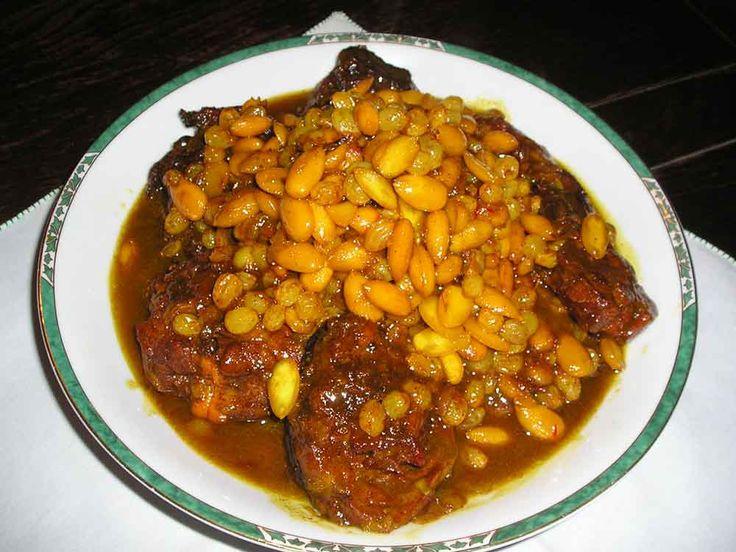 recette cuisine tunisienne recette mrouzia tunisien de la